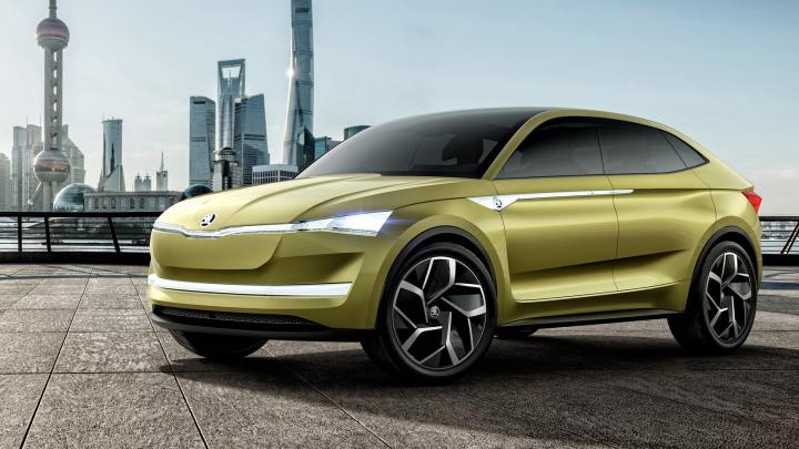 Skoda lansează la Salonul Auto de la Frankfurt primul SUV electric, Vision E