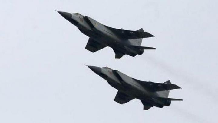 Trei avioane rusești, interceptate în apropierea spațiului aerian al Estoniei