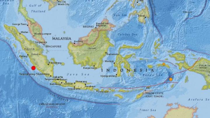 Cutremur de 6,4 grade pe scara Richter în Indonezia. Vibrațiile au fost resimțite la 600 km de la epicentru