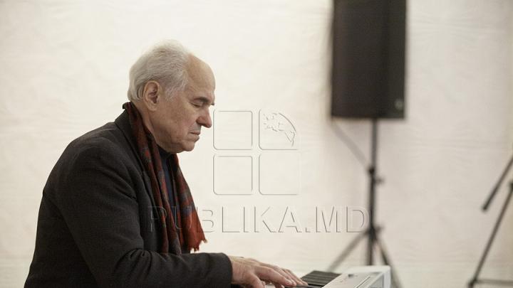 Concert excepțional la Castelul Mimi. Eugen Doga a susținut un recital în aer liber