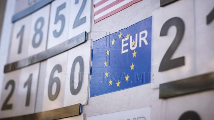 CURS VALUTAR 29 august 2017: Leul moldovenesc se depreciază ușor faţă de moneda unică europeană