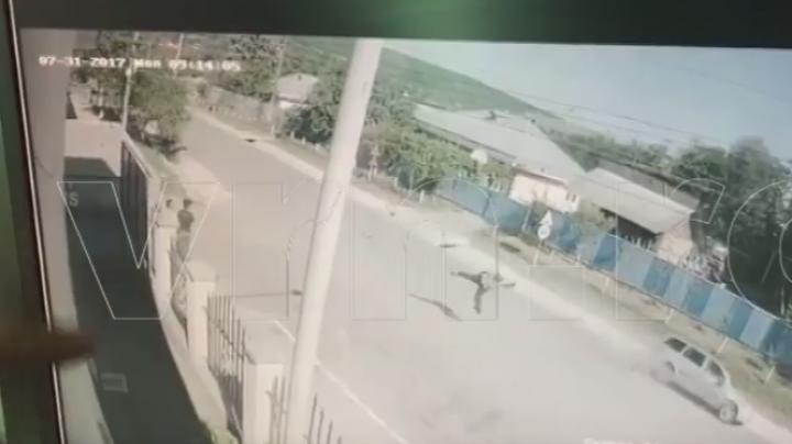 Accident mortal, surprins de camerele de supraveghere (VIDEO)
