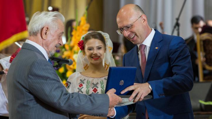 Pavel Filip, la Gala Premiului Național: Suntem un popor muncitor și talentat. Ţara noastră produce valori