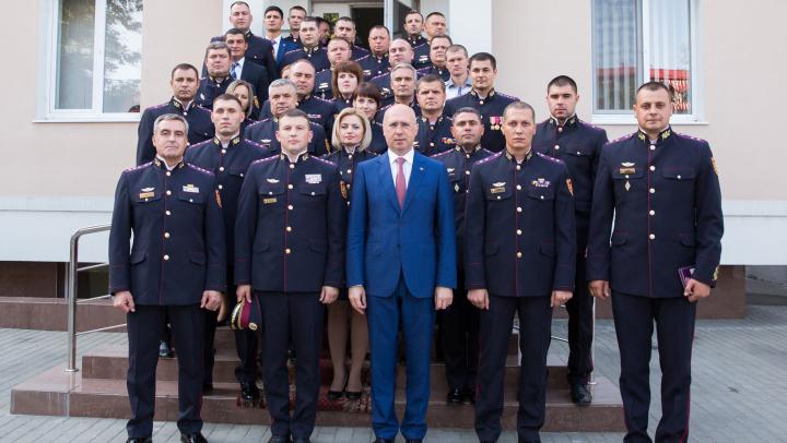 Pavel Filip le-a mulţumit ofiţerilor SPPS pentru profesionalism: Criteriul de evaluare a muncii dvs este discreția