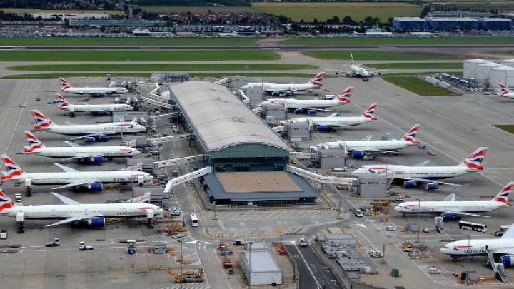 Recordul absolut atins de aeroportul Heathrow. În luna iulie au fost înregistraţi 7.53 milioane de pasageri