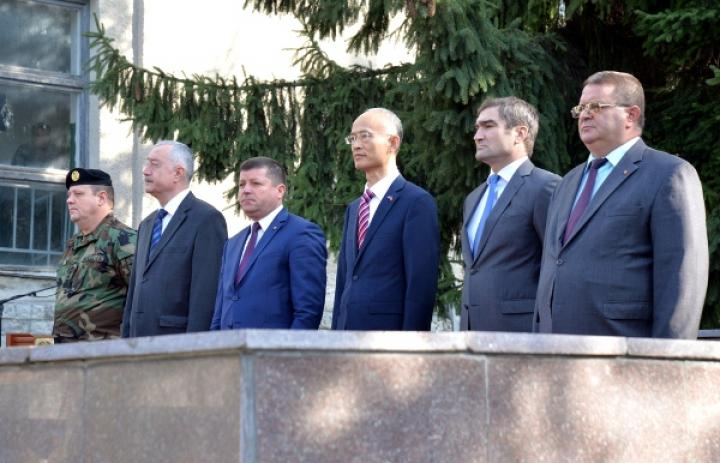 Tehnică în valoare de 15 milioane de lei pentru Armata Națională a Republicii Moldova din partea guvernului chinez (FOTO)