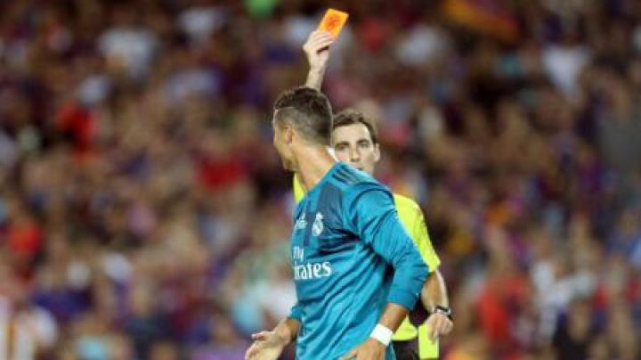 Cristiano Ronaldo taxat dur după jocul de aseară. Atacantul va fi suspendat pentru cinci meciuri (VIDEO)