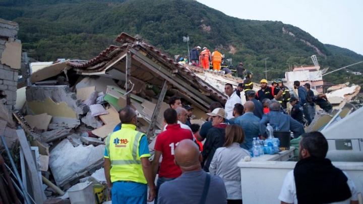 Cutremur în Italia. Aproape 2.600 de persoane au rămas sinistrate