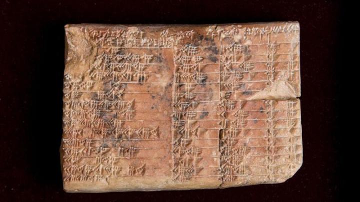 O tabletă din argilă, veche de 3.700 de ani, a demonstat că nu grecii au inventat trigonometria