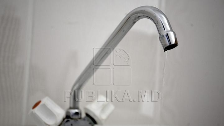 Locuitorii de pe mai multe străzi din Capitală vor rămâne mâine fără apă la robinete