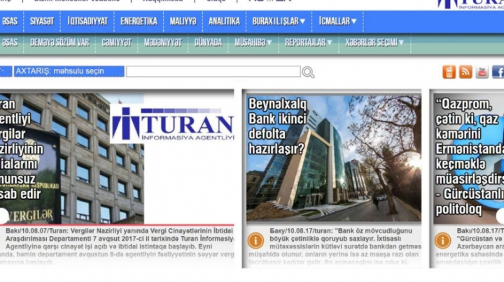 Singura agenție de presă independentă din Azerbaidjan își suspendă activitatea