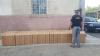 O dubă ticsită cu 20.000 de pachete de țigări din Republica Moldova, confiscată de poliția din Botoșani (FOTO)