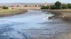 DEZASTRU ECOLOGIC! Râul Răut care trece prin satul Căzăneşti A SECAT. Pe cine dau vina autorităţile locale