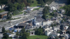 Noi alunecări de teren într-o vale din Alpii elveţieni! Mai multe case şi drumuri au fost distruse