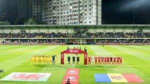 """Înfrângere pentru Moldova: """"Tricolorii"""" au pierdut meciul cu Ţara Galilor (FOTOREPORT)"""