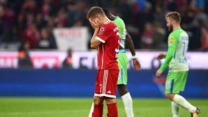 Bayern Munchen a scăpat printre degete victoria în partida cu Wolfsburg