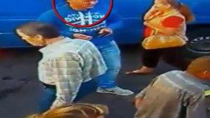 Dacă îl cunoşti, anunţă Poliţia! A furat o geantă cu bani dintr-o maşină parcată în centrul Capitalei (VIDEO)