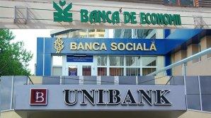 Foștii administratori și debitori ai Băncii Sociale, Banca de Economii și Unibank sunt vizați în cadrul unor dosare penale