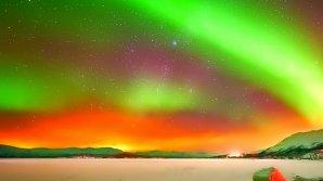 IMAGINI FASCINANTE cu aurora boreală văzută din cosmos au făcut înconjurul Internetului