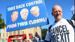 Protest ANTI-BREXIT la Londra. Zeci de mii de oameni au ieșit în stradă