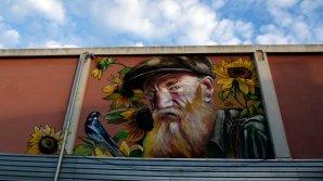 Pereţii clădirilor dintr-un orăşel spaniol s-au transformat în galerii de artă graffiti