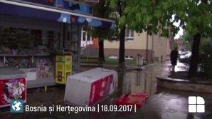 PUBLIKA WORLD: Ploi, furtuni puternice, vânt şi grindină în Bosnia şi Herţegovina