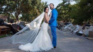 EMOŢIONANT. Un cuplu a renunţat la nuntă pentru a dona banii victimelor uraganului Harvey (FOTO)
