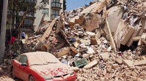 IMAGINI DE GROAZĂ. Cum se PRĂBUȘESC cladirile în timpul cutremurului devastator din Mexic