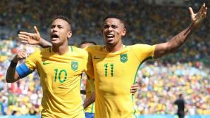 Neymar şi Gabriel Jesus au făcut spectacol la un antrenament deschis pentru suporteri