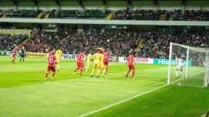 MOMENT COMIC! Ce a făcut un suporter moldovean în timpul meciului cu Ţara Galilor (VIDEO)