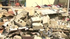 O fetiţă de doar patru ani, găsită sub dărâmături în urma unei explozii