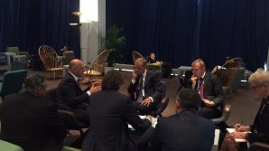 Pavel Filip a avut o întrevedere cu Donald Tusk: Moldova este axată pe implementarea Acordului de Asociere cu UE