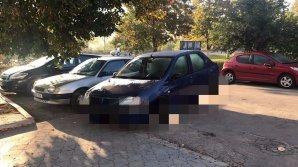 Ghinion pentru un şofer român venit la Chişinău! Cum şi-a găsit maşina lăsată în parcare (FOTO)