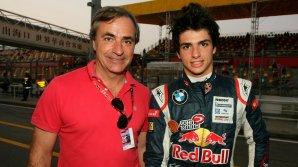 Competiţie inedită între tată şi fiu. Legendarul Carlos Sainz şi băiatul său s-au luat la întrecere cu două car cross-uri