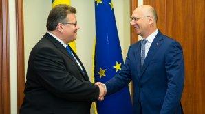 Ministrul Linkevicius: Lituania va susţine în continuare Moldova în parcurgerea drumului său european
