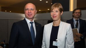 Preşedinta Estoniei susţine ţara noastră privind retragerea trupelor străine de pe teritoriul Moldovei