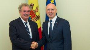 Premierul Pavel Filip s-a întâlnit cu Jean Asselborn, ministrul Afacerilor Externe şi Europene al Marelui Ducat de Luxemburg