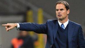 Frank De Boer, demis de la conducerea tehnică a echipei engleze Crystal Palace