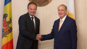 Cipru va continua să sprijine eforturile de integrare europeană a Republicii Moldova