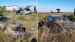 Accident CUMPLIT la Olişcani! Un bărbat a murit, iar altul se zbate între viață și moarte