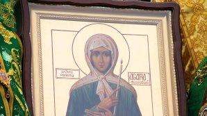 Un an de la canonizarea Sfintei Agafia. La Mănăstirea Cuşelăuca a fost oficiată o slujbă specială