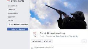 Poliţia din Florida, în alertă! Oamenii vor să tragă cu arma înspre uraganul Irma