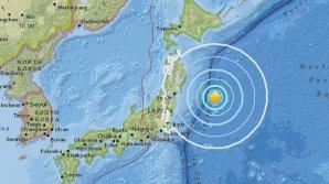 Cutremur cu magnitudinea preliminară de 6,1 grade în Oceanul Pacific, în largul coastelor Japoniei