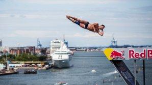Britanicul Blake Aldridge a câştigat a patra etapă a Campionatului Mondial de Cliff Diving
