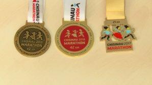 Medaliile pentru Maratonul Internaţional de la Chişinău sunt gata! Unde au fost confecţionate şi cât costă
