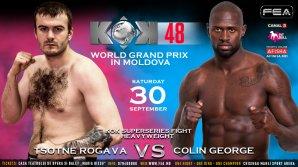 Colin George şi Ţotne Rogava vor susţine un superfight la Gala KOK