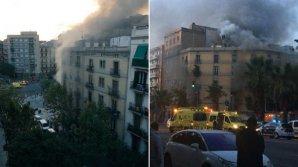 EXPLOZII PUTERNICE la o brutărie din Barcelona. Cel puțin 21 de oameni au fost răniți (VIDEO)