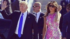 Melania Trump a fost surprinsă într-o ipostază inspirată de la Michelle Obama, fosta primă doamnă a SUA