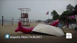 PUBLIKA WORLD. O furtună tropicală face ravagii în Mexic (VIDEO)