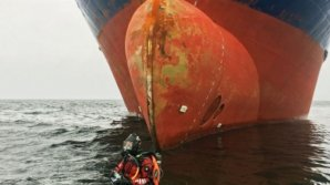 Doi ruși beți au împotmolit un cargobot în apele mici de lângă Suedia
